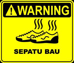 sepatu+bau Cara Menghilangkan Bau Sepatu