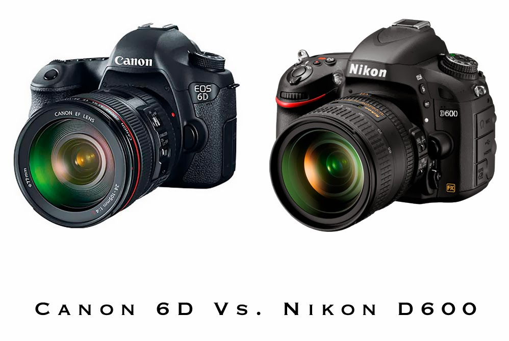 Canon EOS 6D vs Nikon D600, full frame camera, new canon full frame, new nikon full frame, DSLR camera
