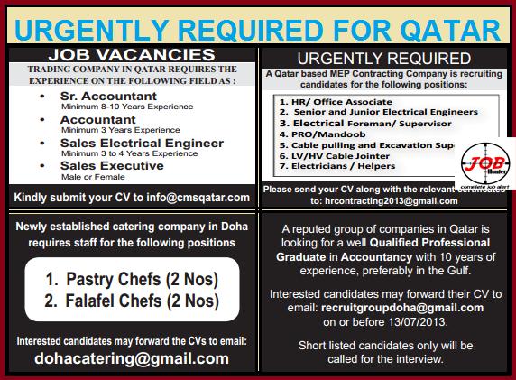 Accountant Qatar