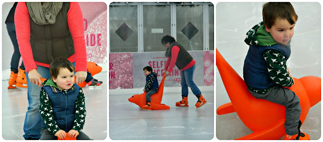 Skate Aids Skating at Selfridges Trafford Centre Ice Rink