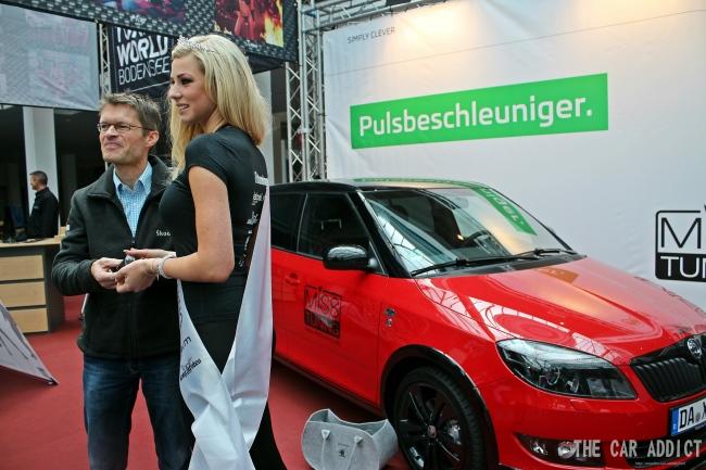 Leonie aus Schlier bei Ravensburg ist MISS TUNING 2013. Bilder von The-Car-Addict.com