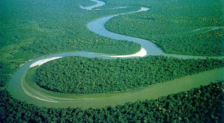 Amazing, There is a River in the Lower Amazon!