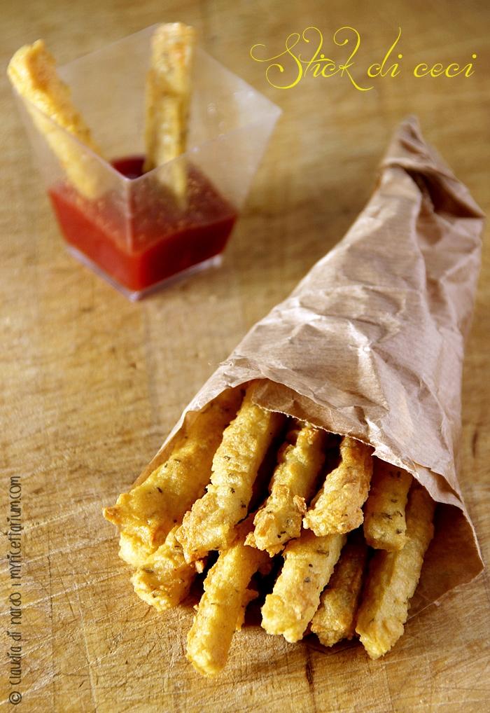 Stick di ceci con rosmarino e paprika