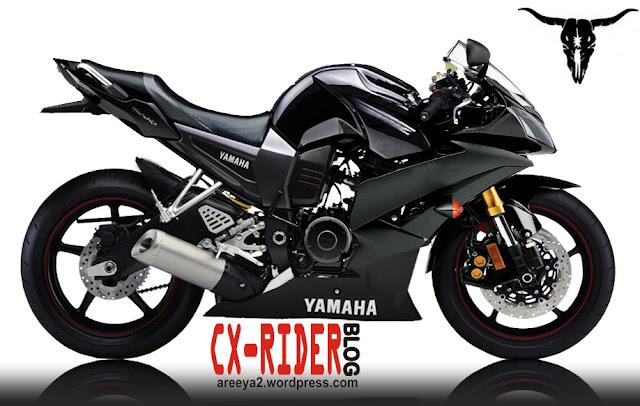 Modif Yamaha Byson Hitam
