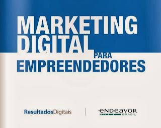 Capa do livro de marketing digital para empreendedores.