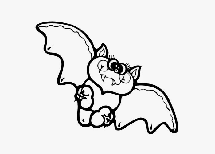 Baby bat coloring page | Free Coloring Pages and Coloring Books for Kids