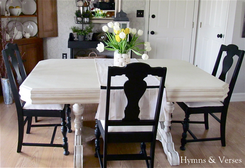 My 40 yard sale dining room table chairs hymns and verses for Dining room tables you tube
