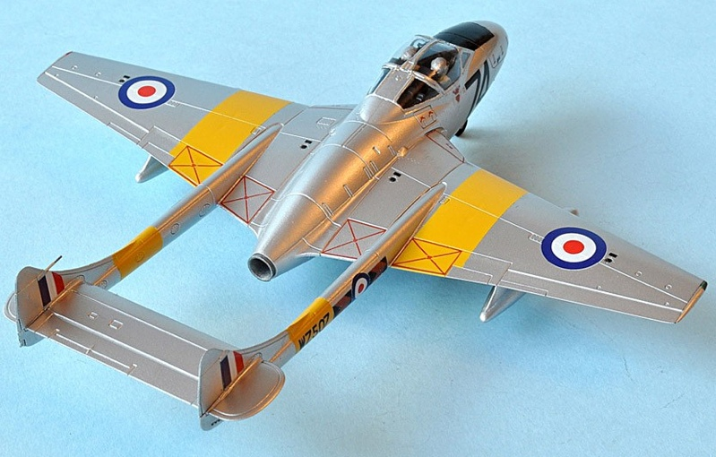 Twin Boom Jet Trainer 172 Scale Airfix Vampire Megamag 2