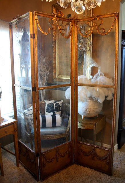 French Folding Screens : Eye for design decorating with folding screens
