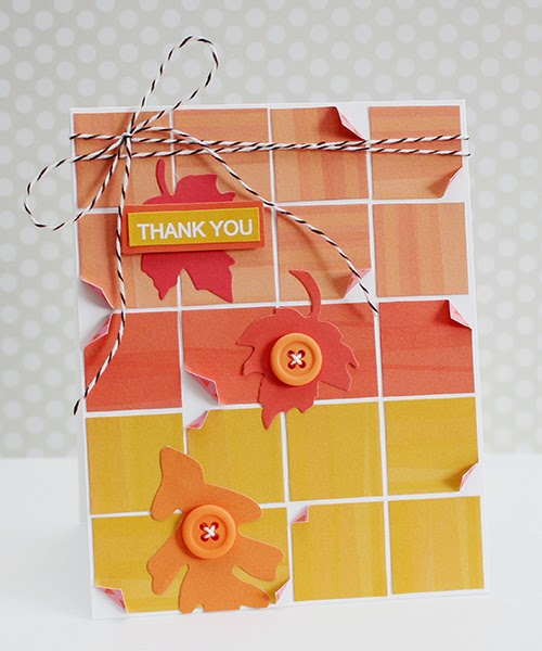 Erin Taylor Chickaniddy Crafts Pinterest thank you card