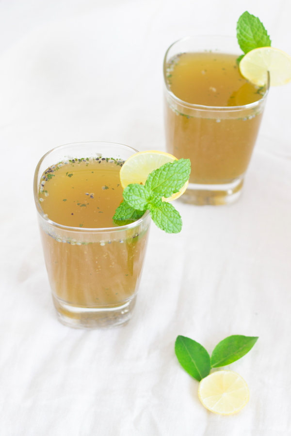 One Teaspoon Of Life: Mint Lime Cooler | Pudina Lime Juice