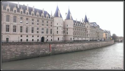 La conciergerie Paris prison chateau des rois Clovis Philippe Auguste