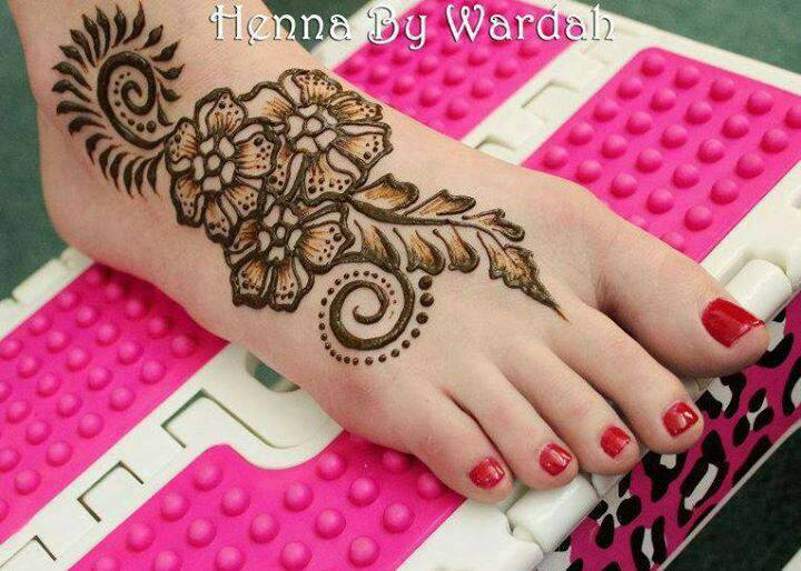 Mehndi Designs Feet N : Best bridal beauty images henna tattoos foot