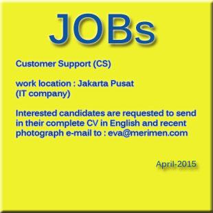 vacancy April 2015