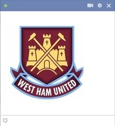 west ham united emoticon Kode Emoticon Chat Facebook Klub (Team) Sepakbola
