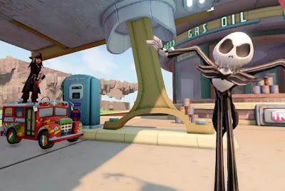 Disney Infinity Jack Sparrow Skelington Cars Radiator Springs