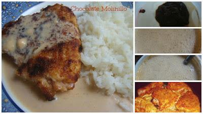 Pollo con Salsa de Chiles Ventilla