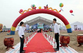 Tổ chức sự kiện Trần Gia - Cho thuê cổng hơi, rối hơi, khí cầu, bóng bay...