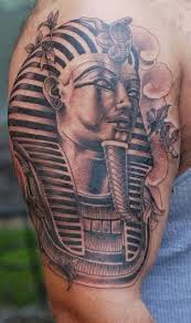 tattoo gallery for men: Cool King Tut Tattoo for Men