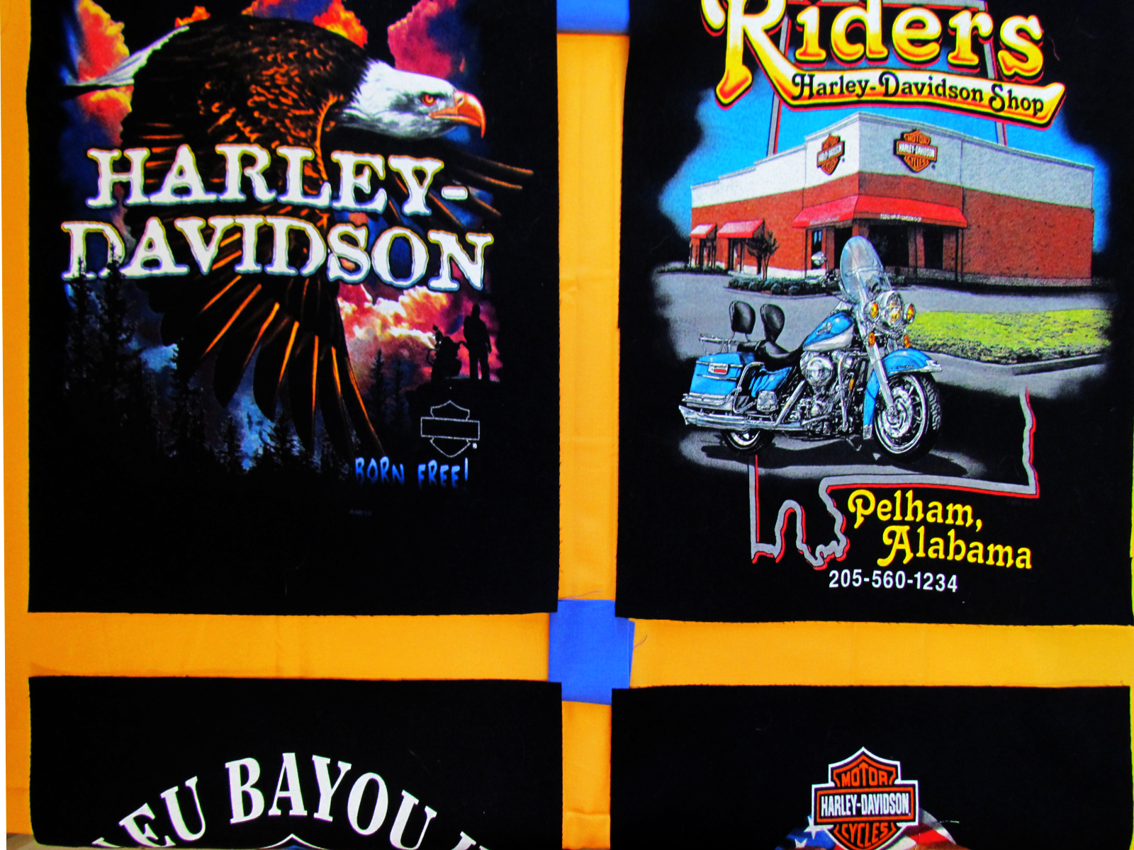 Harley T-Shirts From around the World