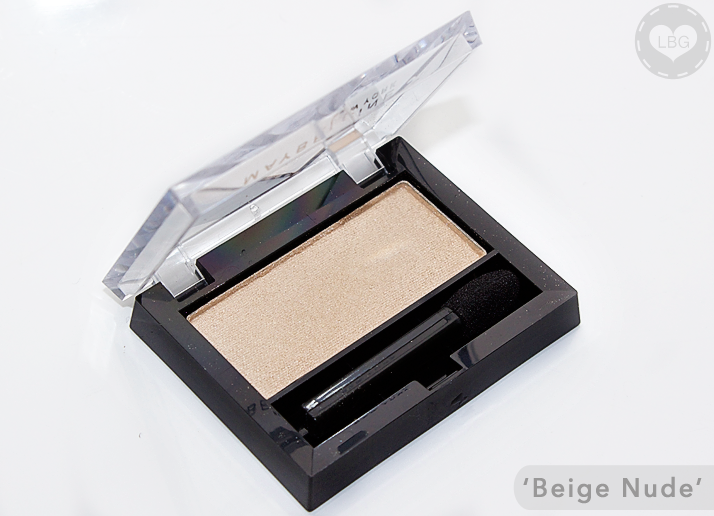Maybelline Eyestudio Mono Eyeshadow in 'Beige Nude'