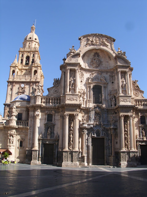 Santa Maria Cathedral Murcia Spain