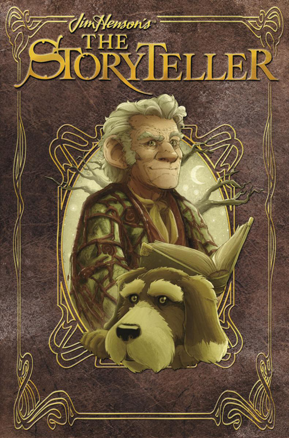 Once upon a blog david petersen illustrates muppets fairy tales i am of course talking about the new jim hensons the storyteller graphic novel anthology and yes this is on my fairy tale wishlist too which fandeluxe Choice Image