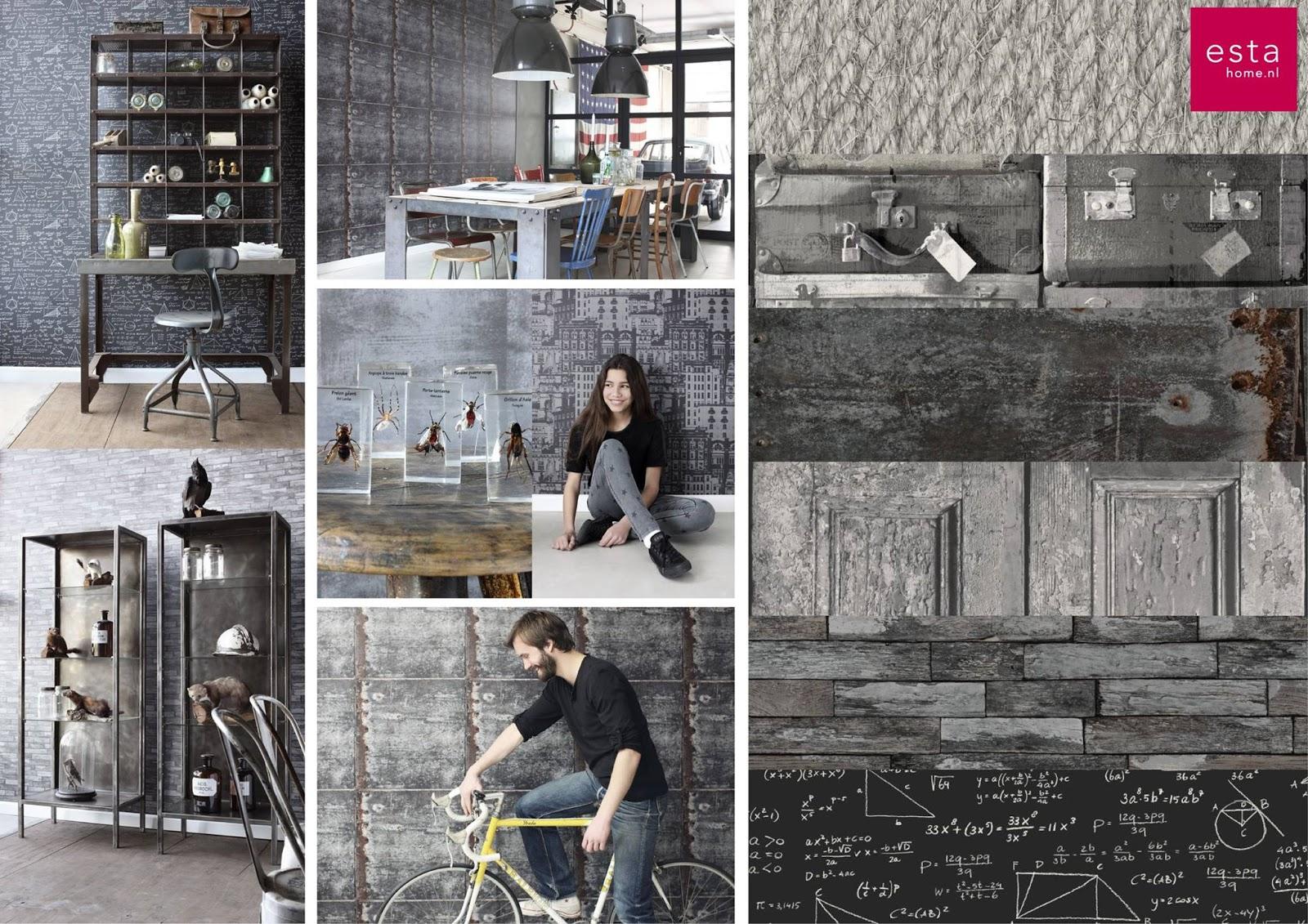 Lia leuk interieur advies lovely interior advice - Papel pintado salon ...