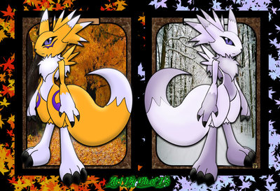 Renamon por GB-of-BS