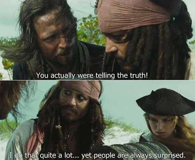 Captain Jack Sparrow Humor Meme