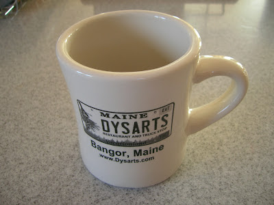 Dysarts truck stop Bangor