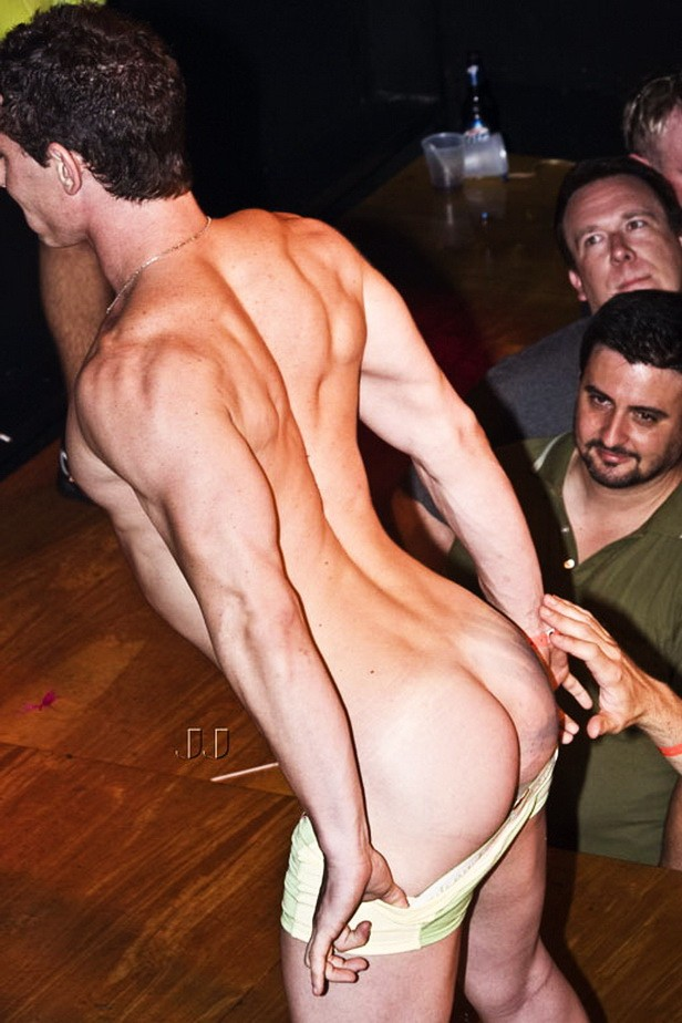 Amateur men strippers