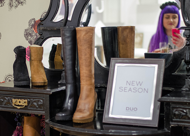 DUO AW14 Blog Event