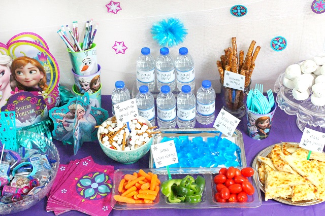How to throw the ultimate budget friendly frozen birthday party