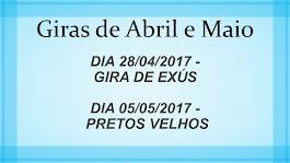 Giras de Abril e Maio