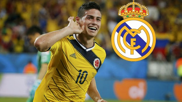 James Rodríguez ya es del Real Madrid.