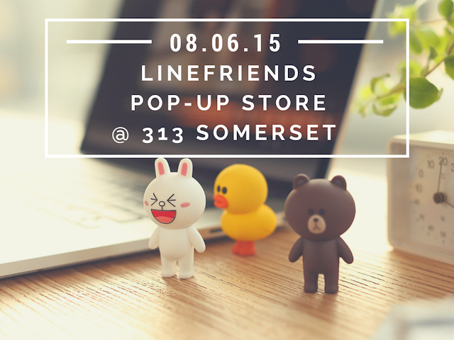 Line Friends Pop-Up Store at 313 Somerset 2015
