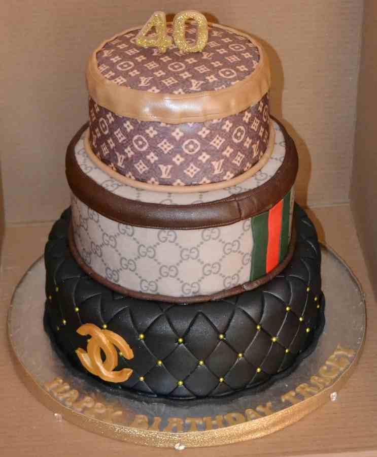 Louis Vuitton Birthday Cake Pictures