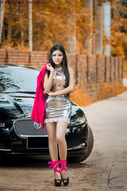 myanmar model & actress