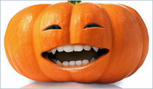 Pumpkin Face in Photoshop CS6 Tutorial