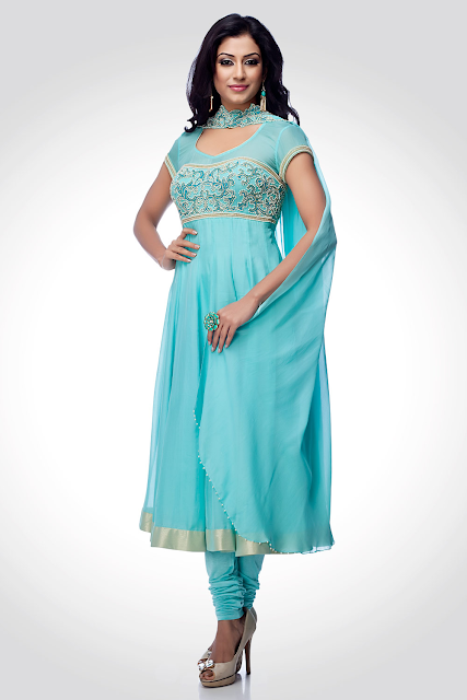 Indian-Anarkali-Umbrella-Frock