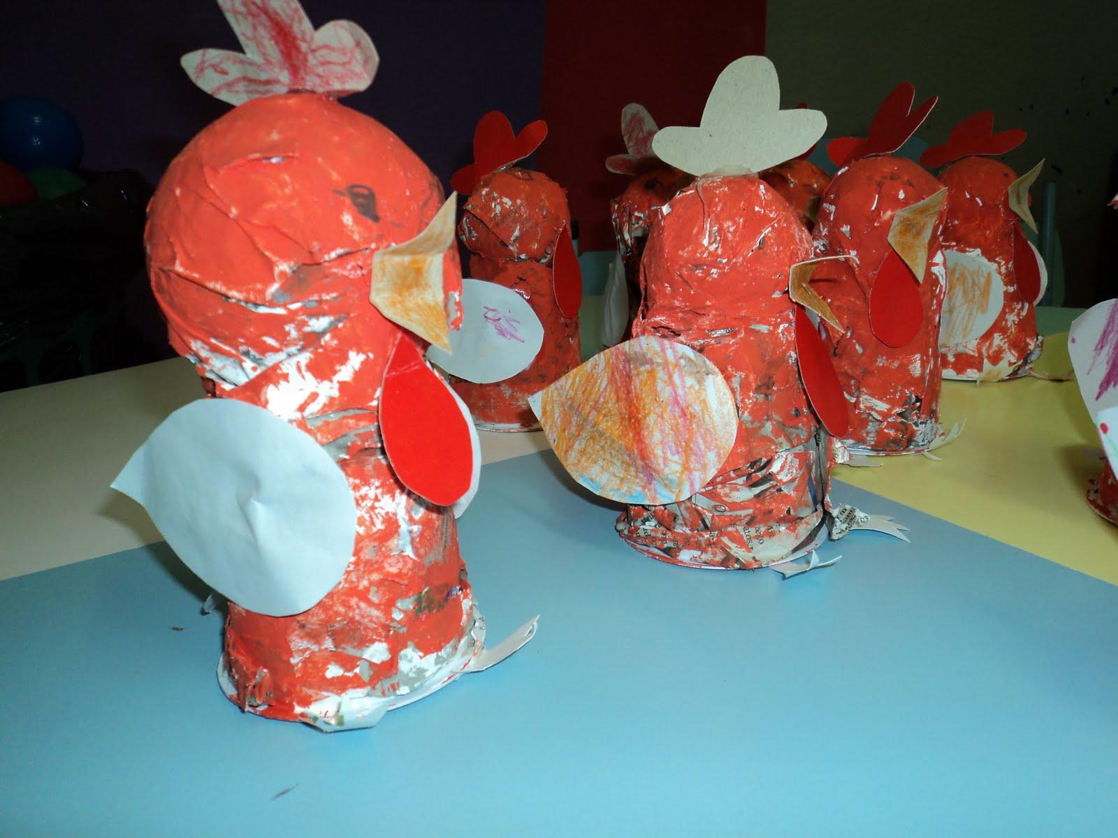 Para sempre professores: Projeto A galinha ruiva 2011