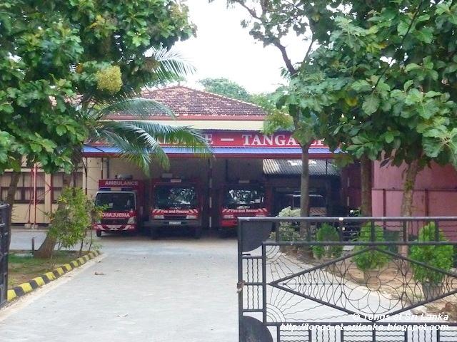 Pompiers au Sri Lanka