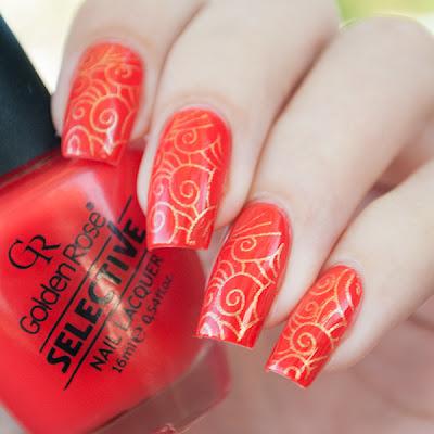 Golden Rose Selective 31 + Golden Rose Nail Art 108 + Nailz Craze 02