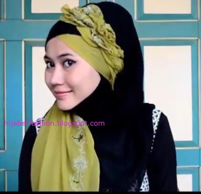 Gambar Cara Hijab Tren 2014 | foto gambar video tren hijab
