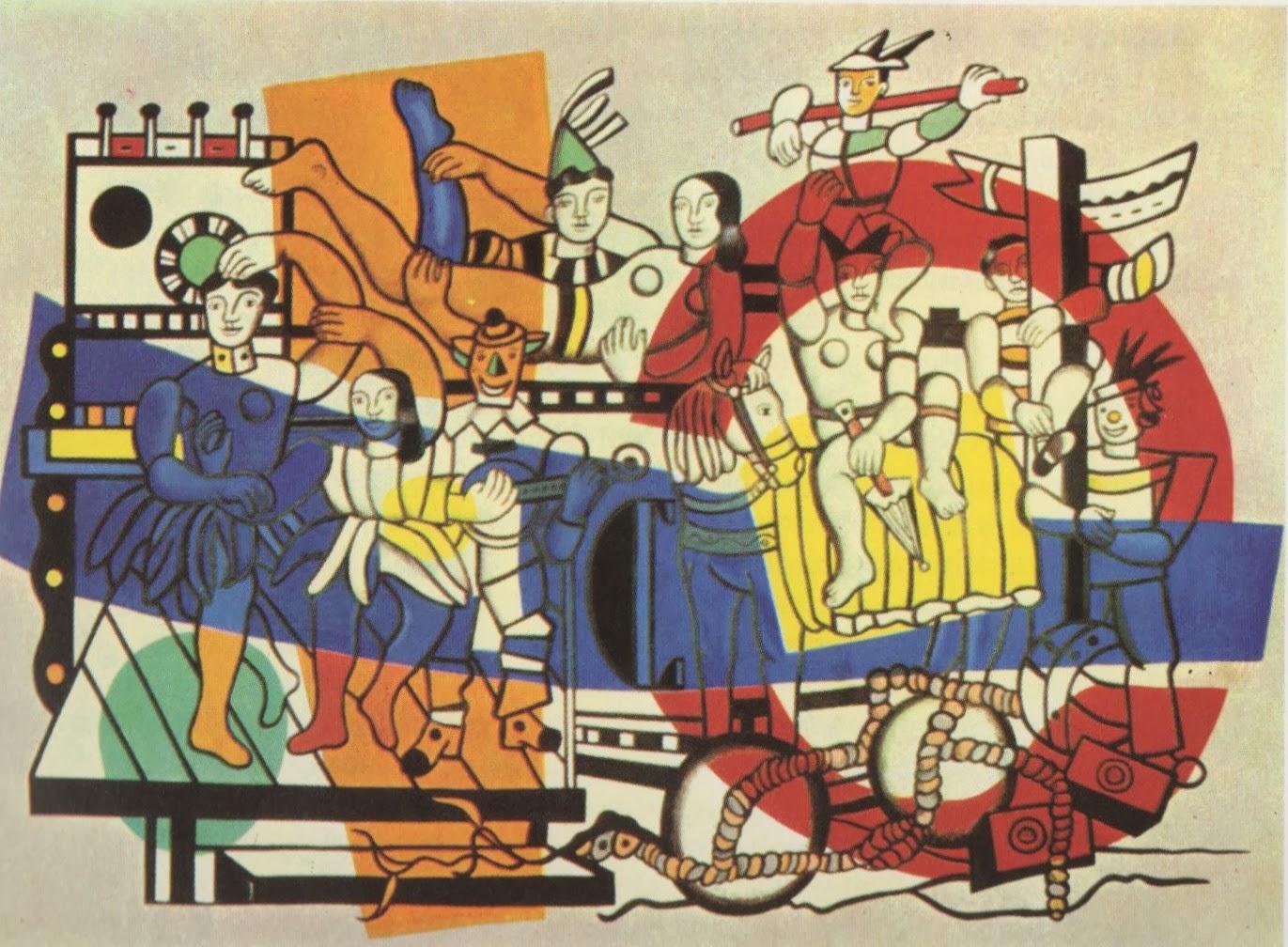 Fernand Léger. La Grande Parade (1954)