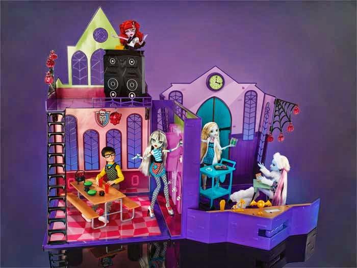 Monstruo perfectamente imperfectos monster high coffin dollhouse casa de mu ecas ata d - Casa de monster high ...