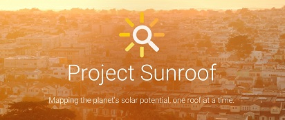 Google introduced Project Sunroof ~ Solar Energy Map, rooftop solar power generation calculator, Google (NASDAQ: GOOG) Project Sunroof To Help People Go Solar