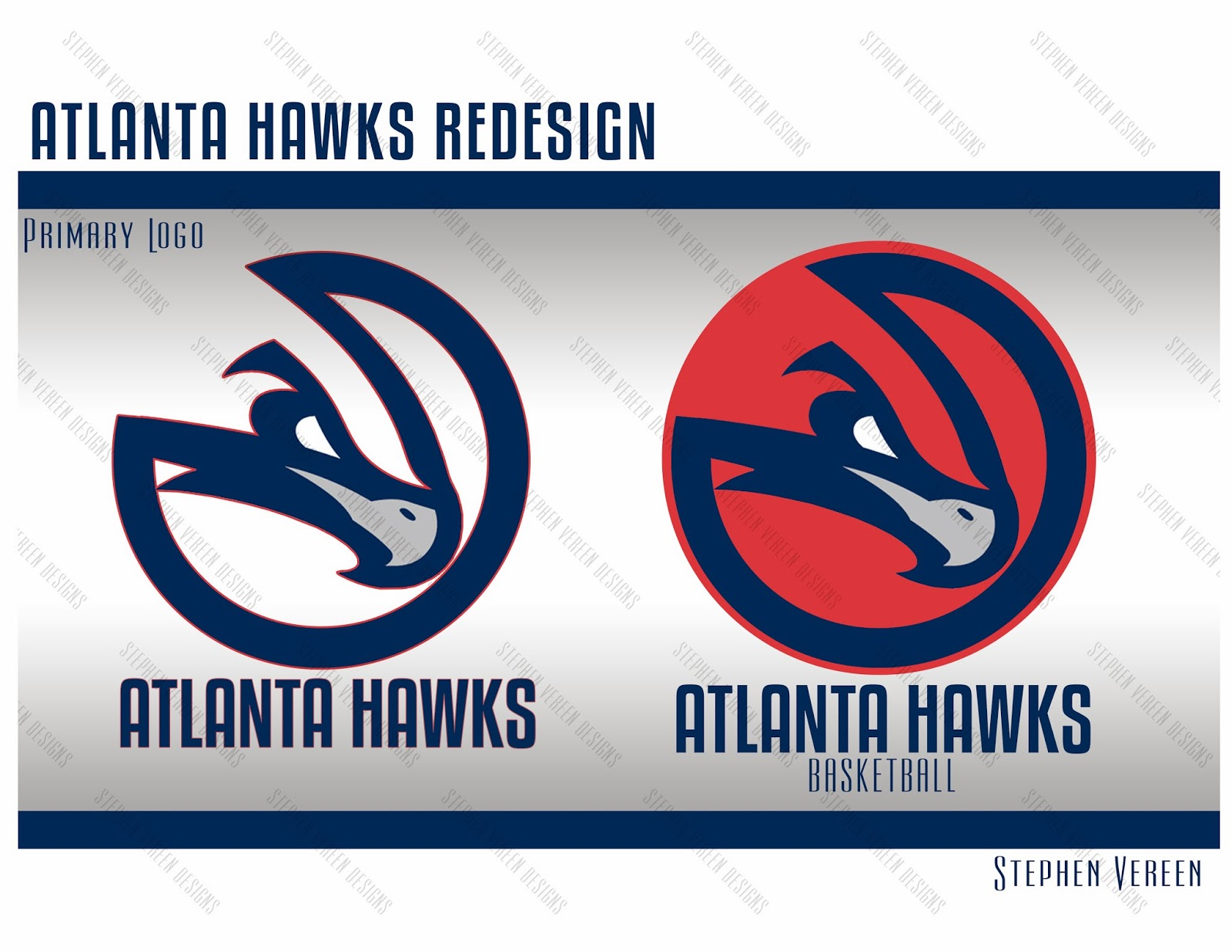 Atlanta hawks new primary logo stephen vereen new primary logo buycottarizona