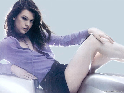 Milla Jovovich Actress HQ Wallpaper